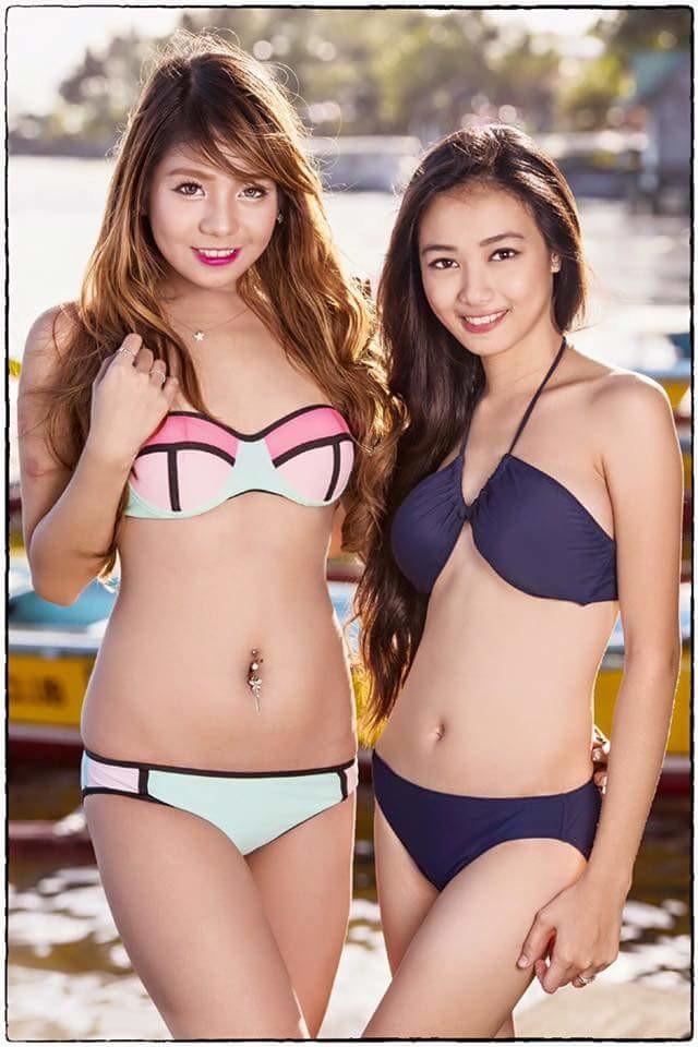 Филиппинская топ-модель Cha Maximiano в стрингах